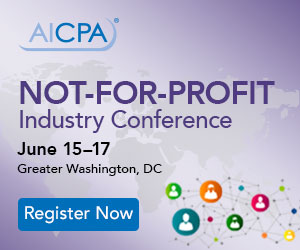 AICPA Not-for-Profit Industry Conference